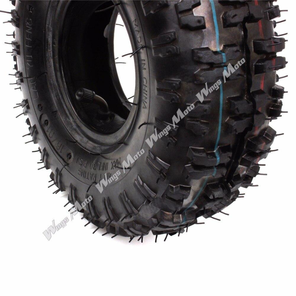 Wingsmoto 4.10-4 410-4 4.10//3.50-4 Tyre Tire Inner Tube for Garden Rototiller Snow Blower Go Cart Kid ATV