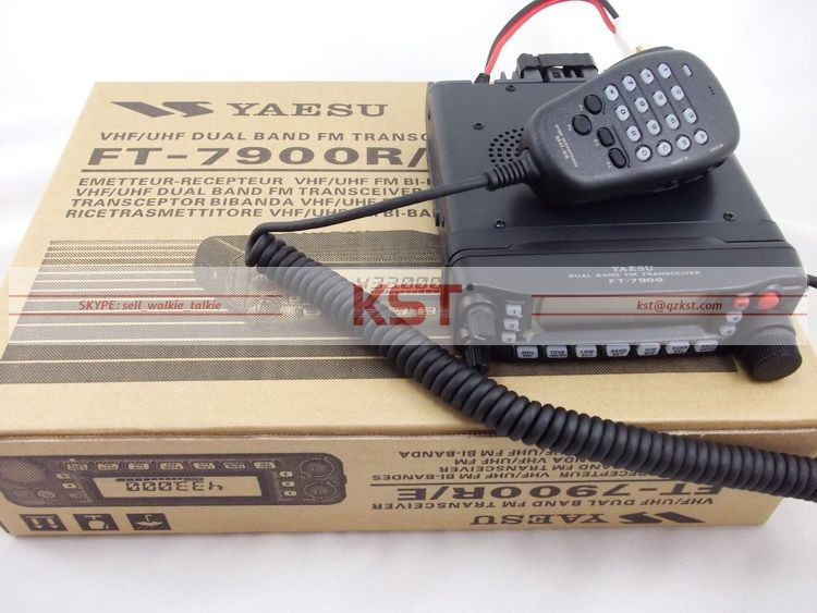 YAESU FT-7900R 50 W HAUTE PUISSANCE Double Bande FM Émetteur-Récepteur 2 Mètre 70 cmMobile Amateur Radio