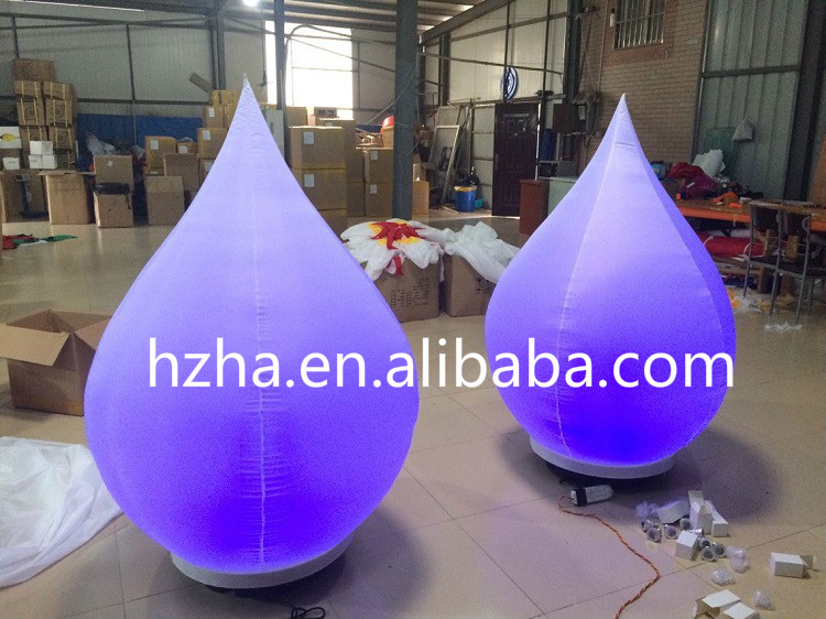 Giant Inflatable Drop Balloon for Party Decoration giant inflatable balloon for decoration and advertisements