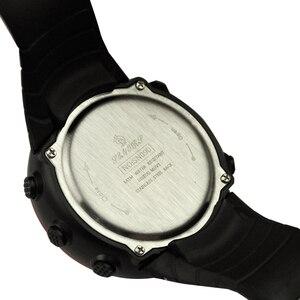 Image 4 - SENORS Sport Watch mężczyźni Outdoor cyfrowe zegarki LED elektroniczny zegarek na rękę wojskowy Alarm męski zegar cyfrowy