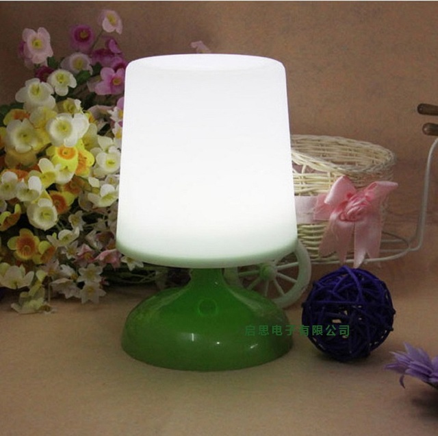 HOT SALE 1W Solar potted light LED Solar table lamp Great for house decorative and best gifts for children
