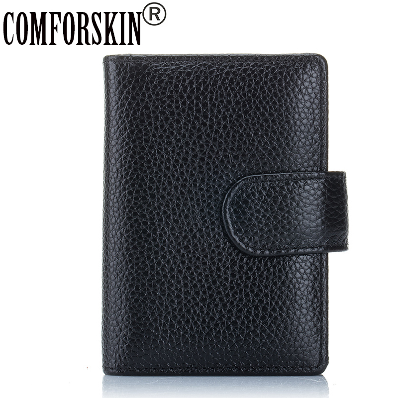 COMFORSKIN Brand 2018 New Arrival Genuine Leather Large