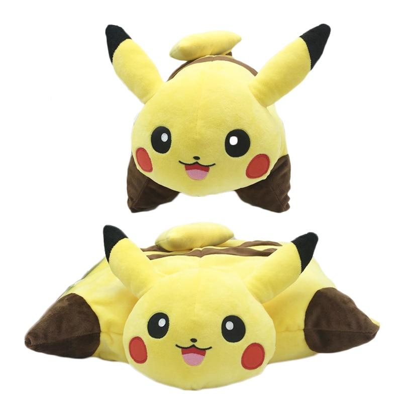 Baby Kawaii Pikachu Plush Toys 40cm Pikachu Plush Pillow Sleep Cushion Kid Soft Stuffed Animal Doll Cartoon Toypia Plush Cushion