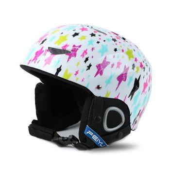 Integralnie formowane Kask narciarski dla dzieci dorosłych narty śnieg kask narciarstwo Snowboard kask narciarski deskorolka sportowe dla dzieci kask tanie i dobre opinie Skiing Dziecko FY207 6 lat Winter Pół pokryte 47-53cm As Fish Skiing Helmet Skating Helmet Sport Helmet