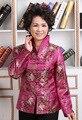 O envio gratuito de Venda Quente Novo Estilo Tradição Chinesa das Mulheres Flor Jaqueta Casaco M L XL XXL 3XL 4Xl