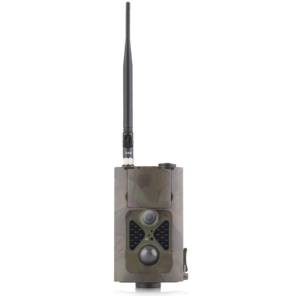 Caméra de Chasse Trail caméras de faune 2G MMS SMS piège Photo 120 degrés Vision nocturne HC550M Chasse chasseur sauvage piste infrarouge