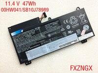 11 4 V 47Wh Echtem 00HW041 Batterie Für Lenovo ThinkPad S5 E560P 00HW040 00HW041 SB10J78989