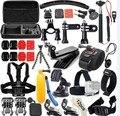 Gopro аксессуары go pro комплект крепление для gopro hero 5 4 3 2 Black Edition SJCAM SJ5000 SJ4000 камера случае xiaoyi грудь штатив