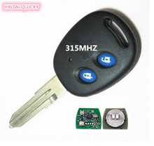 HXLIWLQLUCKY auto accessory 315MHZ 2 button remote key for chevrolet key free shipping