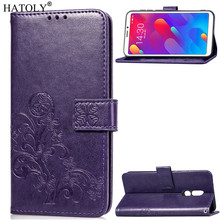 Phone Case For Meizu M8 Cover Flip V8 Silicone Leather Wallet Funda Capa