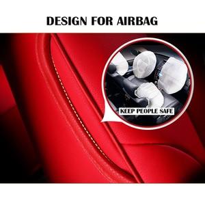 Image 2 - Auto Glauben auto sitz abdeckung Für audi a3 8p 8l sportback A4 A6 A5 Q3 Q5 Q7 zubehör abdeckungen für fahrzeug sitz