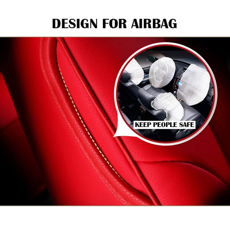 Housse de siège de voiture pour audi a3 8 p 8l sportback A4 A6 A5 Q3 Q5 Q7 housses accessoires pour siège de véhicule - 2