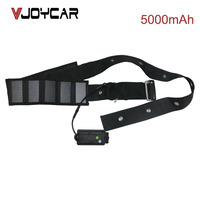 VJOYCAR T500S Waterproof Cow GPS Tracker With Solar Panel Collar and Long Battery Life None Stopping Power Supply