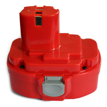 18V 2.0Ah Replacement Battery For 18 volt Makita 1822 192826-5 192827-3 Ni-Cd Red