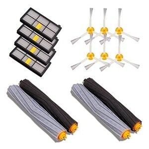 Image 1 - Próżniowe części do czyszczenia 14 sztuk akcesoria do iRobot Roomba 880 860 870 871 980 990 uzupełnianie części zamienne zestaw pędzli