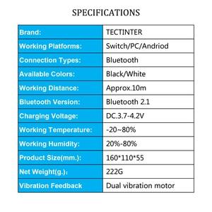 Image 2 - Bluetooth Draadloze Game Controller Joypad Voor Nintend Schakelaar Ns Console Gamepad Pro Joystick Voor Android Telefoon/Pc Controle