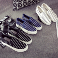 2016 Slip On Platform Flats Women Stripe Breathable Slipony Brand Women'S Shoes Krosovki Platform Female Ladies Slipony Creeper