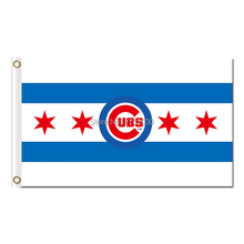 4 Red Star Chicago Cubs Team Flag World Series Football Team 3ft X 5ft Banner Super Champions Chicago Cubs Flag