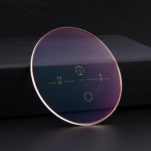 Image 2 - 1.56 Digital Free Form Progressive No Line Multi Focal Prescription Customized Optical Lenses With Anti Reflection Coating 2 Pcs