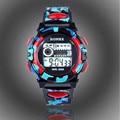 Fashion Unisex Men Women Digital Alarm Chronograph LED Sport Wrist Watch Feida