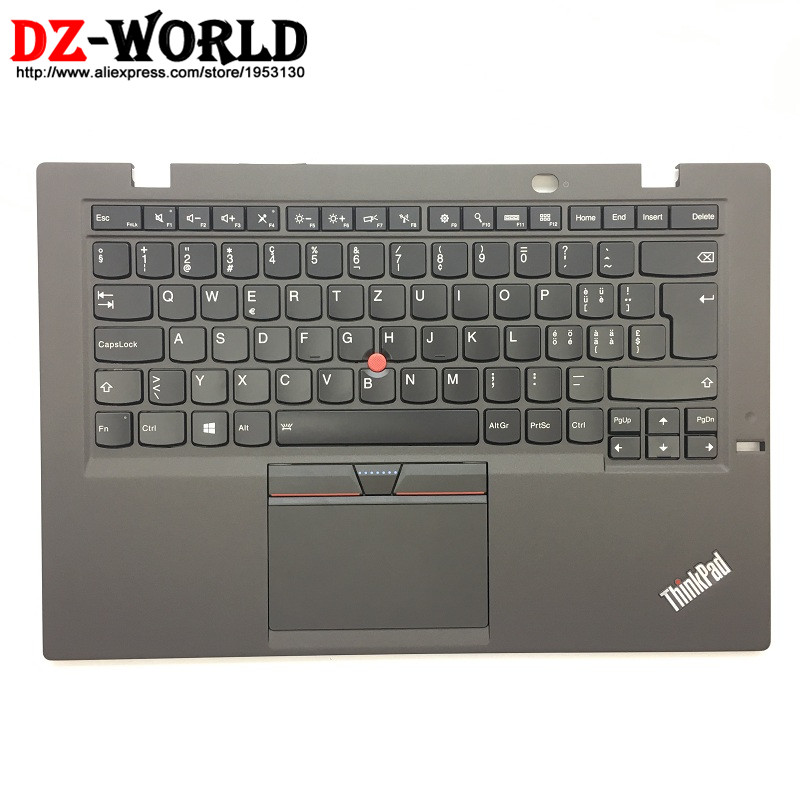 CH New Orig for Thinkpad X1 Carbon 3rd Gen 3 20BS 20BT Swiss Backlit Keyboard with