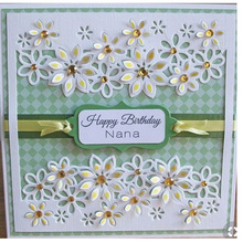 лучшая цена Stamps Scrapbooking Metal Die Flower Border Etched Cutting dies cut Album Photo New 2019 Craft Embossing stencil for Card Making