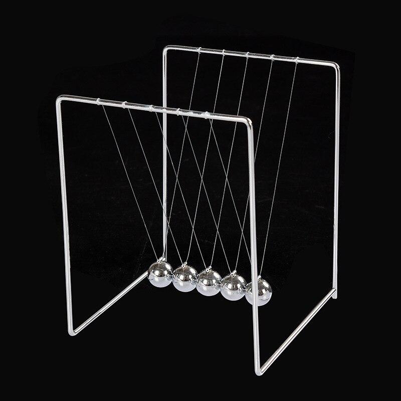 Tabulka Newtonova rovnováha Koule Metal Nolvety Craft Fyzika výuka Newton kyvadlová koule Model para pokemon Studenti suvenýr Dárky