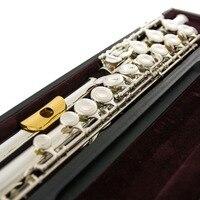 Япония флейта YFL 311 H 17 отверстие Стандартный Никель серебро студент поперечный Flauta обтюратор C Ключ с E ключ с металл мундштук