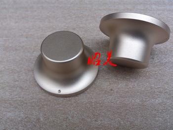 Diameter 48mm Shank Diameter 28mm Height 26mm All Aluminum Solid Volume Knob Sound Amplifier Potentiometer Knob