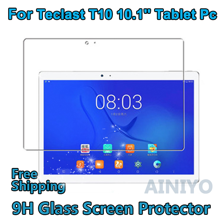 Tempered Glass Screen Protector for Teclast T10 10.1'' Screen Protector For Teclas t10 tempered glass screen protector for oneplus 3