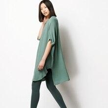 LYNETTE'S CHINOISERIE Summer Women Ultra Loose Thin Cotton Linen Shirts