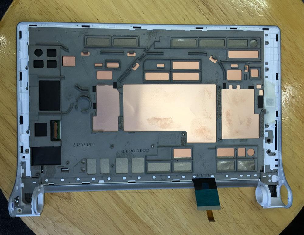 Prix pour Pour 8 ''Pouces Lenovo Yoga Tablet 2 830 830F Écran Tactile Digitizer + Écran lcd avec cadre livraison gratuite