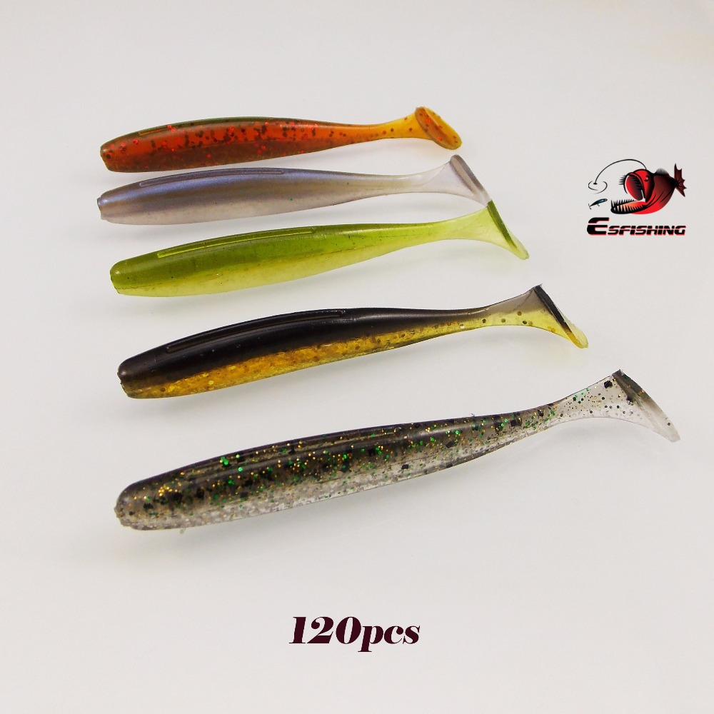 200pcs ES Easy shiner 3 New 2018 7.6cm/2.6g Esfishing Soft Lure Fishing Lure Soft Silicone Baits Carp For Fishing Tackle 40pcs lot carp fishing soft floating artifical tiger nut baits pop up baits terminal tackle pellets baits sets of fishing