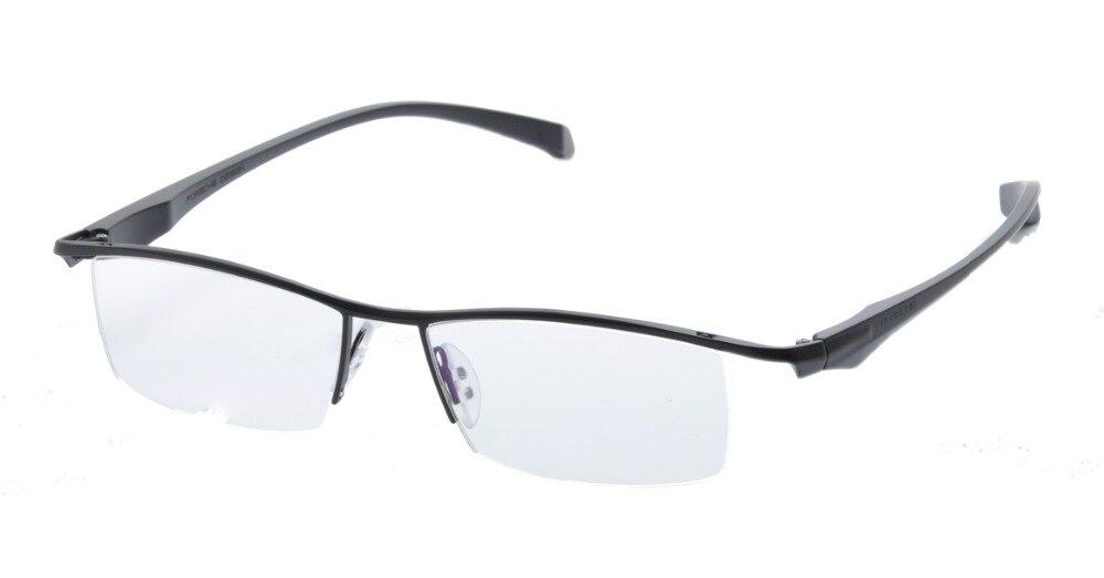 DEDING Men Semi Rimless Eyeglasses Frame New Bussiness non ...