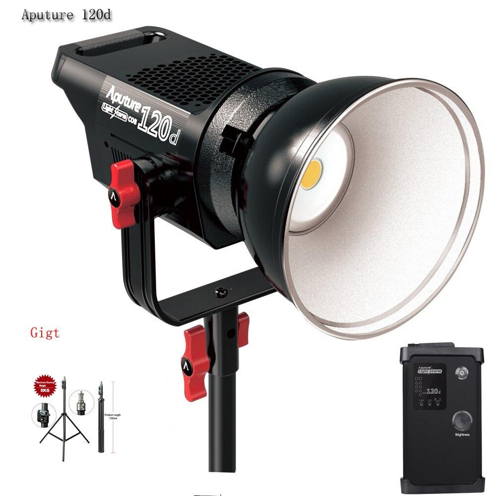 Aputure LED Light Storm COB 120D 135W 6000K Continuous Video Light CRI97 TLCI97 14000lux 0.5M Bowens Mount with Remote Control