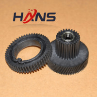 1Sets. FS7 0007 00 Upper Roller Gear+FS7 0006 000 Fuser Motor Drive Gear for Canon IR7105 IR7095 IR7200 ir 7095 7105 8500 7200|Printer Parts| |  -