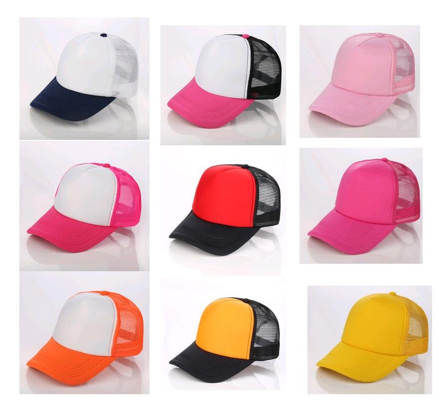fd64ba1a76809 10pcs a lot form mesh baseball caps Adult Summer Mesh Golf Hats Adult free  Printing logos Net Trucker hat snapback Peaked hat