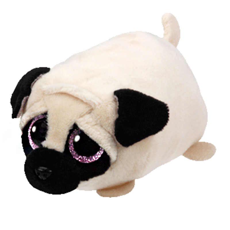 Teeny tys brinquedo de pelúcia tsum tsum régio leão cassie gato kimi siamese bolso pinguim girafa gigante mabs crianças brinquedo hootie coruja cão