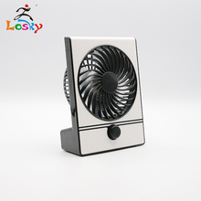 Battery Operated Mini Desk Fan, Portable Personal Table Fan, Small Handheld Electric Cooling Fan for Office, Outdoor Camping unique led love pattern handheld mini fan super mute battery operated for cooling cute