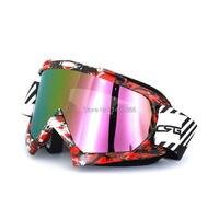 Dorosły Motocykl kask Motocross Gogle Okulary Ochronne Gears Elastyczne Cross Country MX