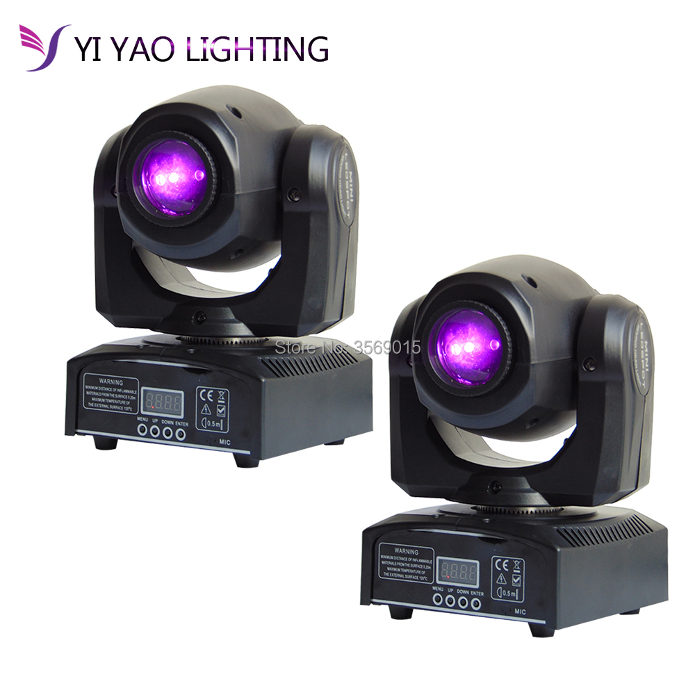 2pcs/lot Mini Spot DMX 512 control 10W LED Moving Heads With Gobos Plate&Color Plate High Brightness DMX512 Moving lights2pcs/lot Mini Spot DMX 512 control 10W LED Moving Heads With Gobos Plate&Color Plate High Brightness DMX512 Moving lights