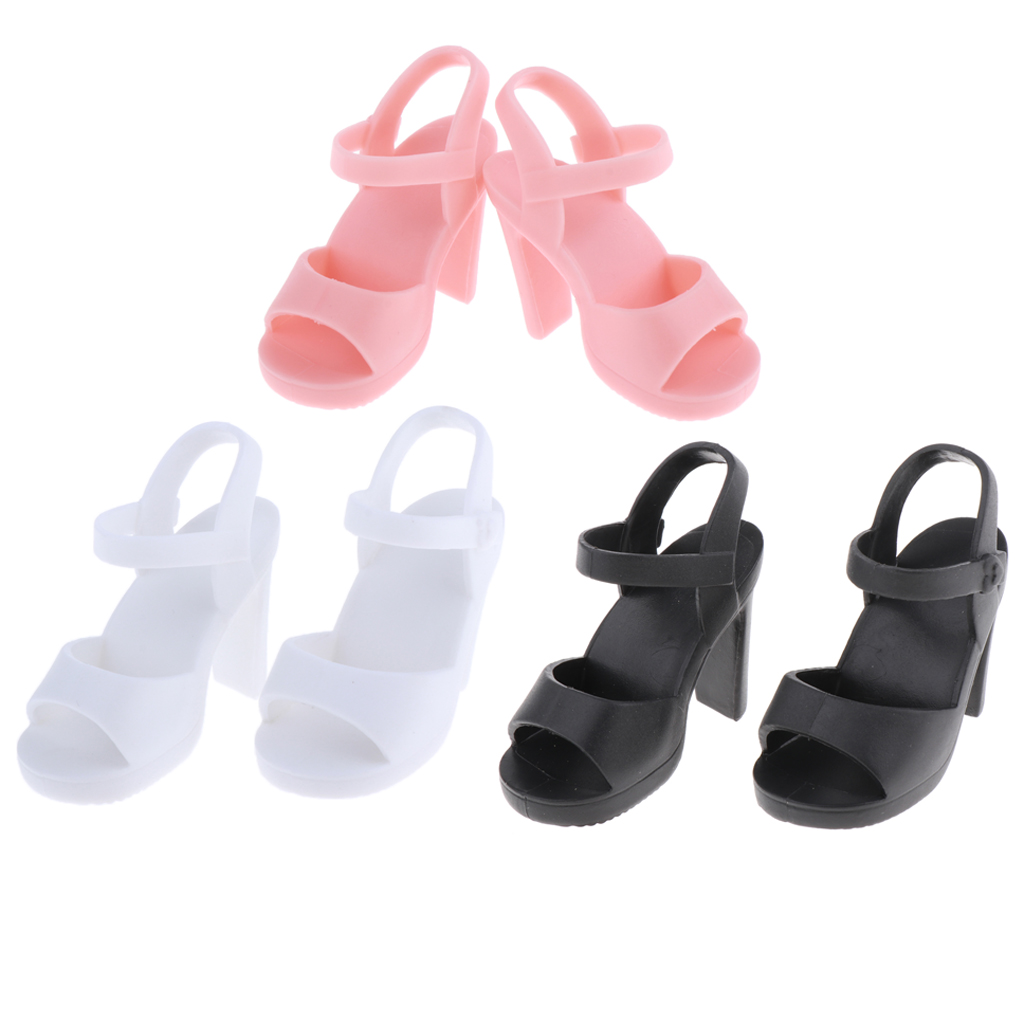 <font><b>1/4</b></font> <font><b>BJD</b></font> <font><b>Doll</b></font> High Heel <font><b>Shoes</b></font> Sandals for 45cm Girl <font><b>Dolls</b></font> Accessory image