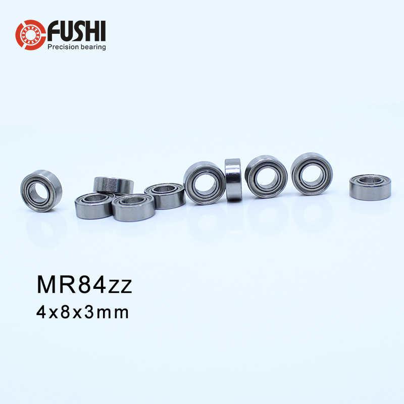 10Pcs L-84ZZR MR84ZZ  Miniature Ball Bearing Miniature Bearings 4x8x3mm