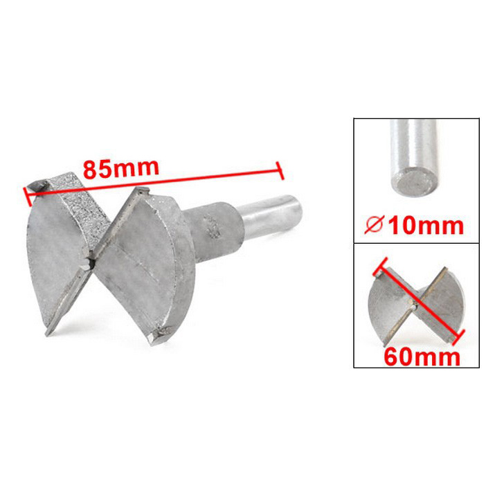 Best Selling 60mm Diameter Hinge Boring Drill Bit Woodworking Hole Saw  цены