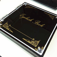 New arrival eyelash box False Eyelash Extension book for strips lashes holder 3D mink and silk eyelashes