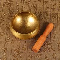 Yoga Singing Bowl Nepal Tibetan Buddhist Healing With Stick Hammered Meditation Belief Buddhist Supplies Home Decoration