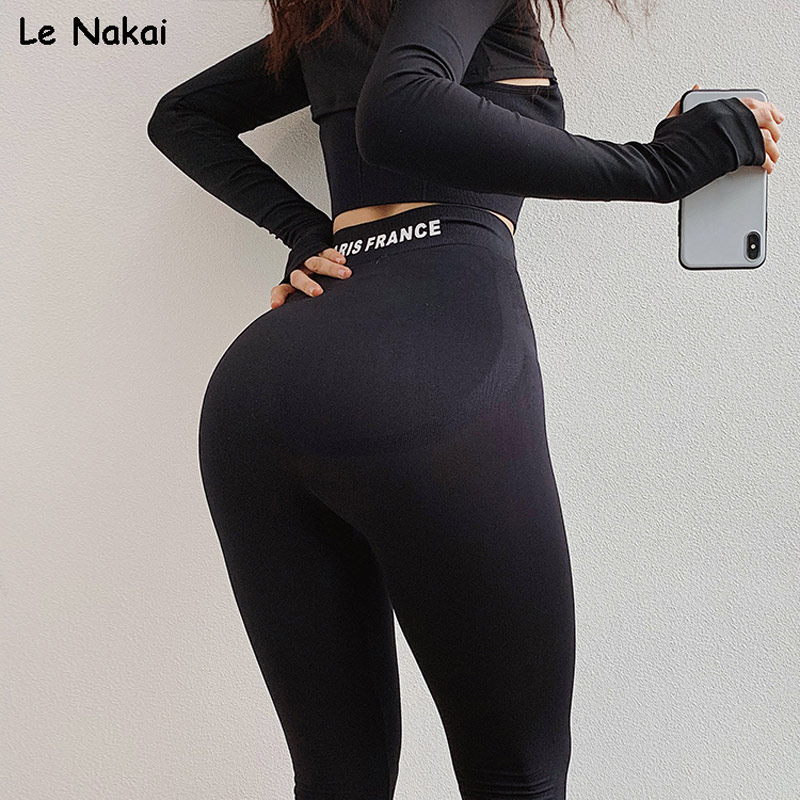 High Waist Seamless Gym Leggings Sport Women Fitness Flex Booty Leggings Scrunch Butt Leggings Strechy Skinny Compression Pants
