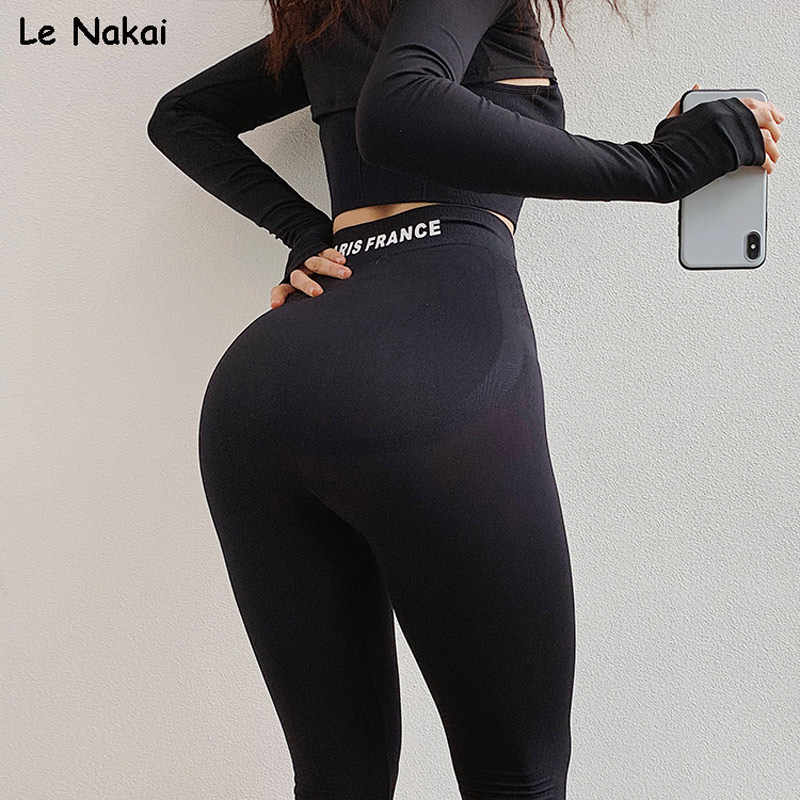 Hoge Taille Naadloze Gym Leggings Sport Vrouwen Fitness Flex Booty Leggings Scrunch Butt Leggings Strechy Skinny Compressie Broek
