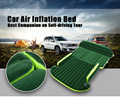 Universal SUV Car Air Inflation Mattress Bed Auto Back Seat Cover Drive Travel Car Inflatable Bed Wave Design With Air Pump
