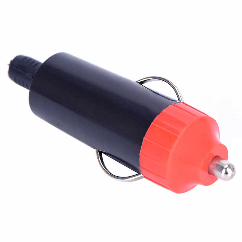 Más vendido enchufe de encendedor de coche macho de 12V adaptador de enchufe cargador de corriente para motocicleta conector + enchufe convertidor de fusible